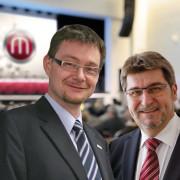 Inititatoren Manfred Enzlmüller und Laurentius Mayrhofer