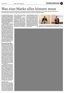 Bericht Horizont Ausgabe 48/12 über MarkenDialog 2012
