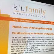 Klufamily Marktforschung und Meinungsforschung