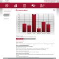 Markenstrategienavigator Ergebnisgrafik
