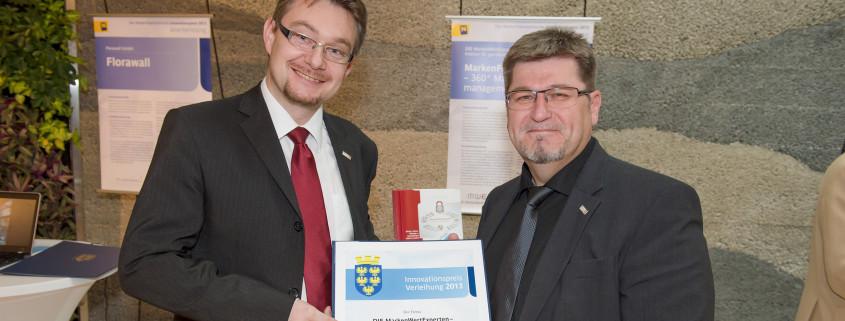 Innovationspreis des Landes Niederösterreich für den MarkenFührungsGuide