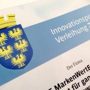 Urkunde Innovationpreis