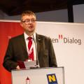 Laurentius Mayrhofer beim Vortrag