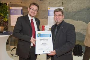 MarkenWertExperten bei der Preisverleihung des Nö Carl Ritter von Ghega Preises