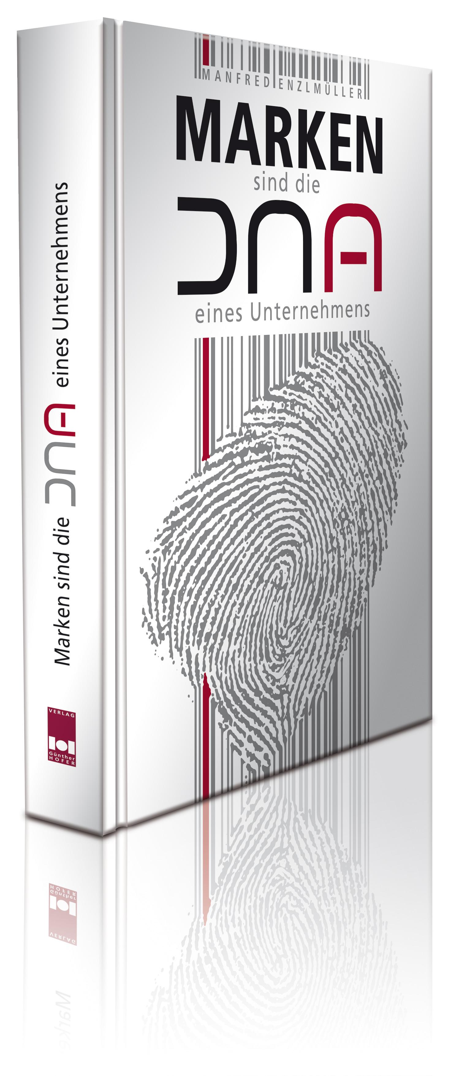 Buchansicht 3d Marken sind die DNA eines Unternehmens