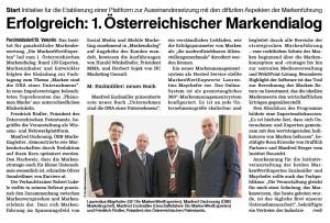 Bericht Medianet 07 Dezember 2012