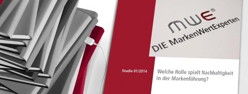 Studie 01/2014 - Welceh Rolle spielt Nachhaltigkeit in der Markenführung