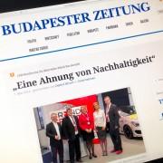 budapester Zeitung eine ahnung von Nachhaltigkeit 070514