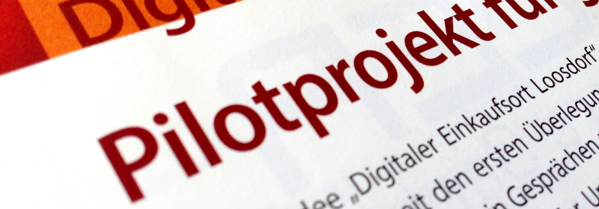 Headline Pilotprojekt in Loosdorf zur Digitalisierung