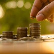 Münzenstapel – Wert von Kreativleistungen