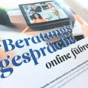 Beitragstitel Beratungsgespräche online führen